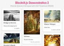 BlocksIt js | Dynamic Grid Layout jQuery Plugin - Plugin Page