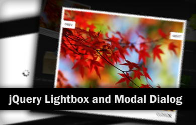 15 awesome jQuery Lightbox and Modal Dialog plugins screenshot