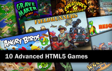 10 Advanced HTML5 Games Screenshot