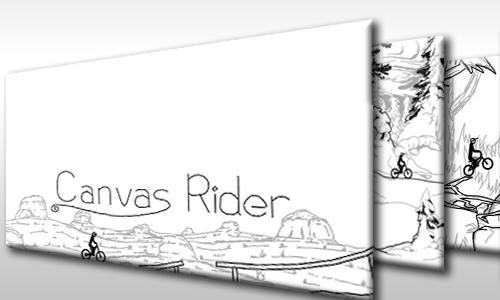 Canvas Rider HTML5 game