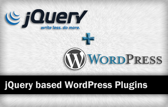 jQuery based WordPress Plugins